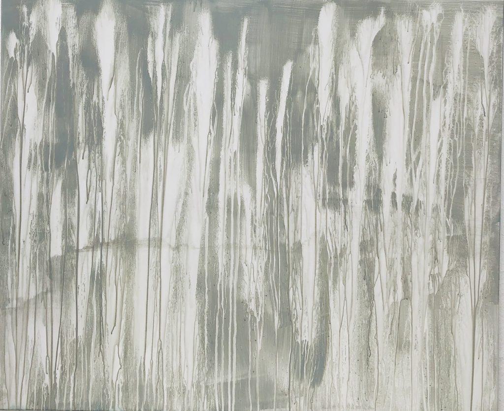 Ursula Schregel, Flow, 2020, Acryl auf Urban Art, 100x120cm