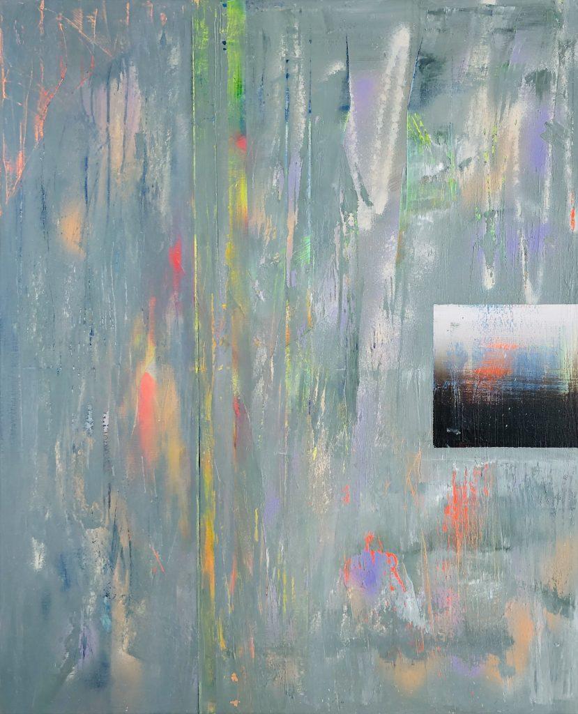 Ursula Schregel, ohne Titel, 2020, Acryl auf Leinwand, 120x100cm